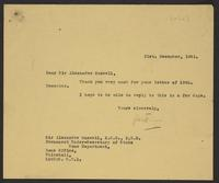 Letter to Sir Alexander Maxwell from J.W.C. Turner, 31st December, 1941