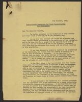 Letter to Sir Alexander Maxwell, 5th Decemeber, 1941 concerning ther International Commission for Penal Reconstruction and Development