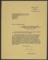 Letter to Sir Alexander Maxwell from J.W.C. Turner, 22 September, 1944