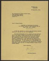 Letter to Dr. Hassan Nachat from J.W.C. Turner, 22 September, 1944