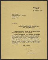 Letter to Mr. Wold from J.W.C. Turner, 22 September, 1944