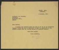 Letter to Brierly from J.W.C. Turner, 5 October, 1944