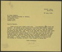 Letter to Mr. Stabell from J.W.C. Turner, 27 July, 1943