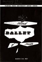 National Ballet of Canada program (March 5, 1957)