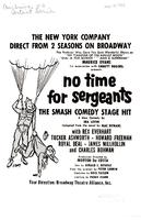 """No Time for Sergeants"" program (February 14, 1958)"