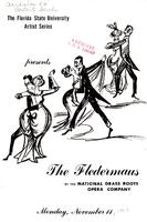 """The Fledermaus"", by the National Grass Roots Opera Company (November 11, 1957)"