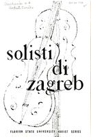"""Solisti di Zagreb"" (October 26, 1956)"