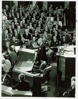 Alistair Cooke addressing a Joint Session of Congress