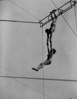 Swinging on the trapeze