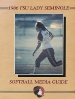 1986 FSU Lady Seminole Softball Media Guide