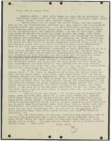 Letter from Mia Hasterlik to Giulia Kortischoner, 1939-01-20