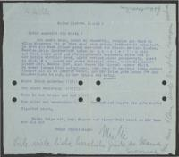 Letter from Mia Hasterlik to Giulia Kortischoner, 1939-02-02