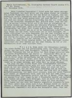 Letter from Mia Hasterlik and Thomas Heller to Giulia Kortischoner, 1939-11-13