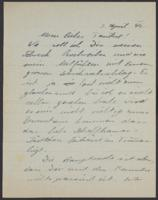 Letter from Giulia Koritschoner to Alice Sigerist, 1944-04-03-1944-04-04
