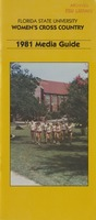 Florida State University Women's Cross Country Media Guide: 1981
