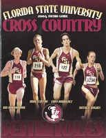 Florida State University Cross Country Media Guide: 2004