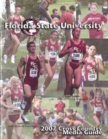 Florida State University Cross Country Media Guide: 2007