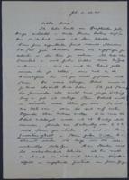 Letter from Erica Wetter to Giulia Kortischoner, 1945-11-05