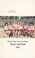 Florida State Lady Seminole Track and Field: 1981