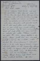 Letter from Giulia Kortischoner to Mia Hasterlik, 1948-07
