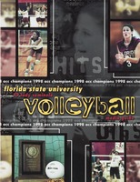 Florida State University 99 Lady Seminole Volleyball: Media guide