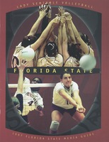 Lady Seminole Volleyball: 1997 Florida State media guide