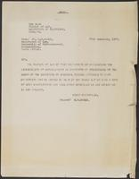 Letter from Dr. H.R. Hahlo