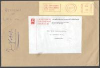 Envelope from Heinemann Educational Books Ltd to Sir Leon Radzinowicz