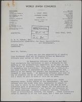 Letter to J.W.C. Turner from A. L. Easterman, July 22nd, 1943