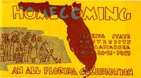 1953 Homecoming program
