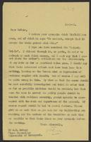 Letter to Dr. A.D. McNair from J.W.C. Turner, 19-3-42