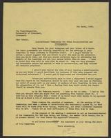 Letter to Arnold McNair from J.W.C. Turner, 9th March, 1942