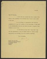 Letter to Mr. Stannard from J.W.C. Turner, 17-1-42
