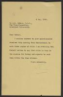 Letter to Arnold McNair from J.W.C. Turner, 4 May, 1942