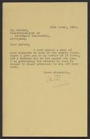 Letter to Arnold McNair from J.W.C. Turner, 28th March, 1942