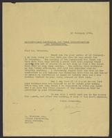 Letter to Alexander Paterson from J.W.C. Turner, 17 February, 1942