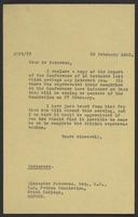 Letter to Alexander Paterson from J.W.C. Turner, 20 February, 1942