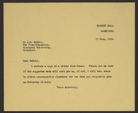 Letter to Arnold McNair from J.W.C. Turner, 17th June, 1942