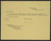 Letter to Mr. Wold from J.W.C. Turner, 23rd February, 1944