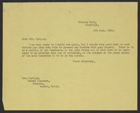 Letter to Mrs. Sprigge, 6th June, 1944