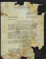 Letter to Mr. Turner from Peter P. Stabell
