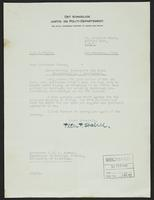 Letter to Professor Turner from Peter P. Stabell, 9th February, 1942