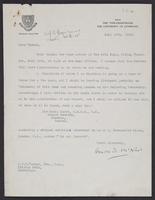 Correspondence between J.W.C. Turner and Arnold D. McNair, July 1943