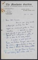 October 1944 correspondence for Sylvia Sprigge