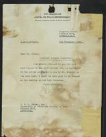 Correspondence between J.W.C. Turner and the Royal Norwegian Ministry of Justice and Police, November, 1941