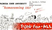 1957 Homecoming program