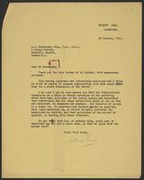 Letter to A.L. Easterman from J.W.C. Turner, 22 October, 1942
