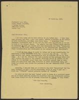 Letter to Professor Cohn from J.W.C. Turner, 28 December, 1942