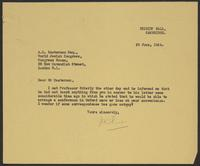 Letter to A.L. Easterman from J.W.C. Turner, 29 June, 1944
