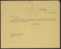 Letter to J.L. Brierly from J.W.C. Turner, 6th January, 1944